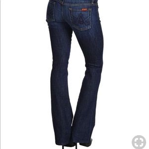 7 for all mankind A pocket nouveau New York dark